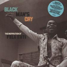"AFRO CUBAN JAZZ FUNK LP BOX SET 10""x4  BLACK MAN'S CRY Inspiration Of Fela Kuti"