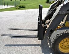 "48"" HD Skid Steer Pallet Forks  4000 lbs Capacity For Bobcat"
