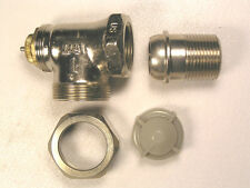 "MACON CONTROL #N10657 RADIATOR VALVE 3/4"" NPT VERTICAL ANGLE PATTERN"