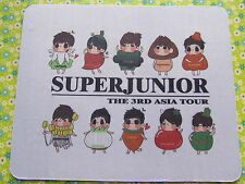 [Super Junior]- SUJU 3rd Asian Tour Mouse Pad (super cute characters)