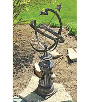 Hyde Park Authentic Victorian Garden Statue Historic Armillary Sphere
