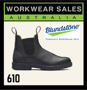 Blundstone 610 Mens Slip On Workboots. Non Safety Toe. Work Boots 510. Free Post