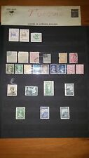 Lot de timbres de Turquie / Türkiye