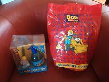 Bob the Builder Towel + bag & Handwash toothbrush Flannel Marks & Spencer BNWT