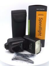 ProMaster 200SL TTL Speedlight Electronic Flash for Nikon Digital, Black (4653)