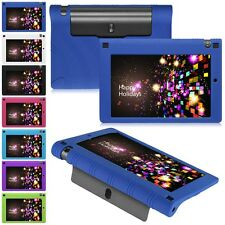 """Silicone Gel Rubber Soft TPU Shockproof Case Cover For Lenovo 7"""" 8"""" 10.1"""" Tablet"""