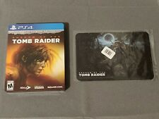 Shadow of The Tomb Raider -Croft Steelbook Edition + Art Plaque (Ps4)