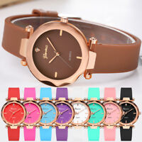 Vogue lovers Womens Watches Geneva Silica Band Analog Quartz Wrist Watches XIU