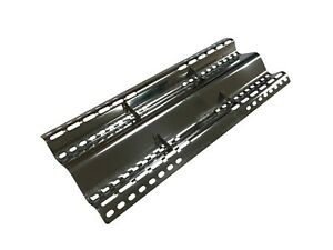 Stainless Steel Adjustable BBQ Heat Plate Flame Diffuser - (40 - 48cm x 16.5cm)