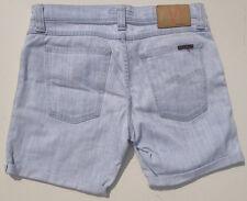 EUC - RRP $179 - Womens Stunning Nudie 'TIGHT LONG JOHN' Bleach Shorts