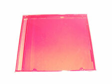 10 Ruby Red Standard CD/DVD Jewel Case Outer Shells-New-No Trays