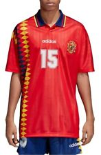 02179695c0f adidas Originals Men s Retro Spain Soccer Jersey Red Ce2340 Size L