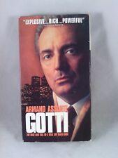 Gotti (VHS, 1996) Armand Assanti, Frank Vincent, Vincent Pastore. HBO TV movie