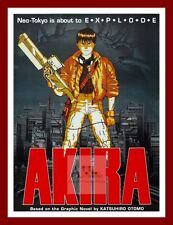 Akira  World Cinema Greatest Movies Posters Vintage Film