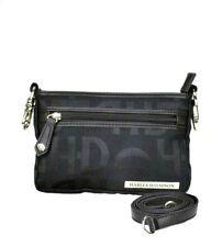 Harley-Davidson® Women's Jacquard Hip Purse Bag w/ Leather Strap HD3492J-BLACK