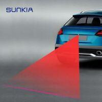1Pcs SUNKIA Car Laser Fog Lamp Anti-Fog Light Auto Rearing Warming Light 12V For