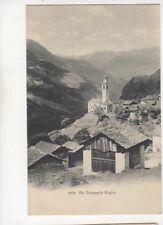 Val Bregaglia Soglio [6834] Switzerland Vintage Postcard 303b