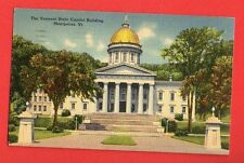 VERMONT - MONTPELIER, THE VERMONT STATE CAPITOL BUILDING PC 411