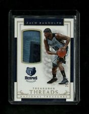Zach Randolph National Treasures TREASURED THREADS Patch #25! Grizzlies! KINGS!