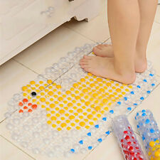 Children Non Slip Bath Mat Bathtub Shower Carpet Bathroom Waterproof Cartoon