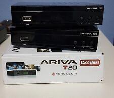 2 x Sintonizador TDT FERGUSON ARIVA T20 TDT2 MEDIAPLAYER 1080 P. USB