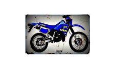 1990 dt200r Bike Motorcycle A4 Retro Metal Sign Aluminium