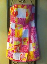 Gorgeous Floral Patchwork LILLY PULITZER Dress RARE NWOT Size 6 🌷