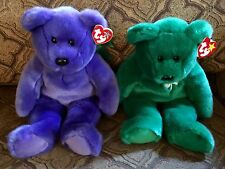 Ty Beanie Buddys Erin & Employee Bear