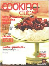 COOKING CLUB Magazine Spring 2012 Strawberries Cake Pie Mousse Brioche Pasta