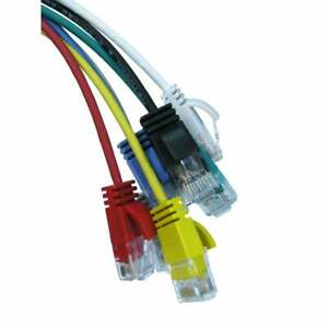 Internet Ethernet CAT6 Ultra Slim Network Cable RJ45 Fast Gigabit Lead Thin wire