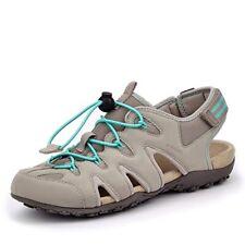 Geox Donna sandalia strel B señora sandalias trekking sandalia d0225b gris claro velcro