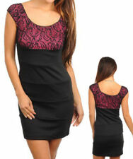 Lace Sleeveless Sheath Dresses for Women