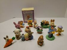 Lot Of 15 Vintage Easter-Themed Hallmark Merry Miniatures