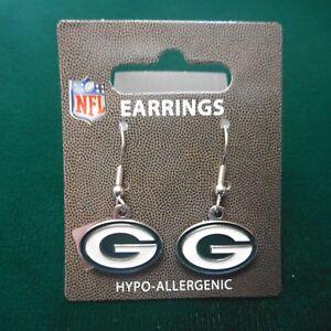 """NEW Packer """"G"""" Logo Dangle Earrings"""