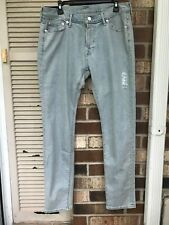 Abercrombie And Fitch Mens Felix Super Slim Stretch Light Blue Jeans size choose