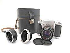 Zeiss Ikon Pentacon six TL MC Biometar 80mm F2,8 Adapter Nikon Tragetasche pe013