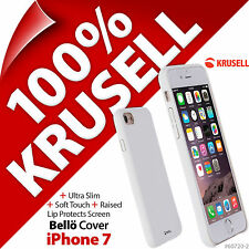 Krusell Bello Housse Ultra Fin Protection étui TPU rigide pour Apple iPhone 7