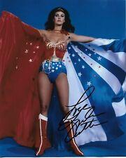 "LYNDA CARTER ""Wonder Woman"" Autographed 8 x 10 Signed Photo HOLO COA"