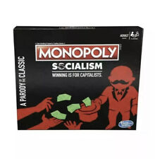 Monopoly Socialism Board Game Parody Capitalists Adult Party Game Fun New Sealed