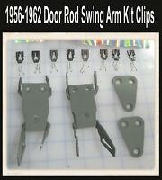 Corvette  1956 1957 1958 1959 1960 1961 1962 Door rod swing Arms for Rods  Door