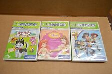 NEW Lot of 3 LeapFrog Leapster Disney Toy Story 3 / Disney Princess / Pet Pals