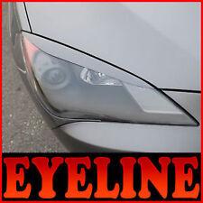 Top Headlight Eyebrow PAINTED For 08 09 10 11 Hyundai Genesis Coupe