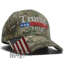 25a143852405f Donald Trump Cap Keep America Great Maga hat President 2020 Flag Real tree  xtra