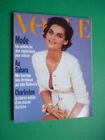 Vogue Paris Unused 1990 N 706 May Vanessa Duve Cover Titian Magni