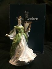 Royal Doulton Figurine signed Ladies of the British Isles Ireland  HN3628 in Box