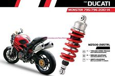 Ducati Monster 795 796 2010-14 Shock Absorber Rear Mono YSS Series GAS+Hydrolic