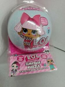 LOL DOLL surprise puzzle 15in X 13 Inch, 60 Pieces NEW