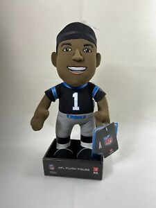 "NFL Carolina Panthers Cam Newton 2016 10"" Plush Figure NWT"
