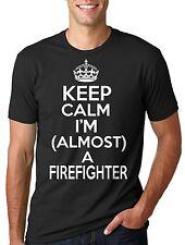 Firefighter T-shirt Almost a Firefighter Tee Shirt Keep Calm future firefighter
