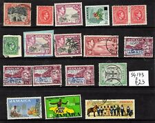 Jamaica - small collection to 10/- - MM/Used